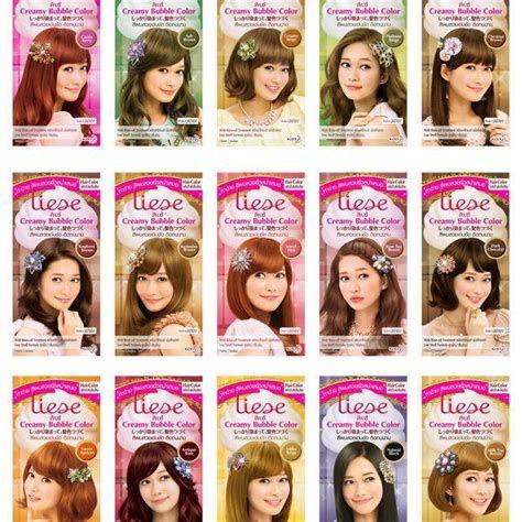 Liese Prettia Kao Japan Foamy Creamy Bubble Hair Dye Liese Hair Color Liese Bubble Hair Color Pink Hair Dye