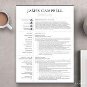Executive Resume Template | Professional C-Level Resume ...