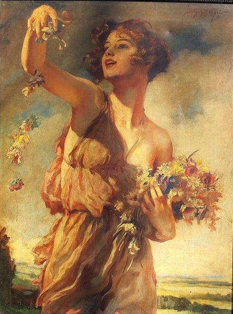 renaissance art Leopold Schmutzler Lady With Flowers Classical Art, Romantic Art, Classic Art, Art Painting, Oil Painting Woman, Art, Renaissance Art Paintings, Ethereal Art, Aesthetic Art