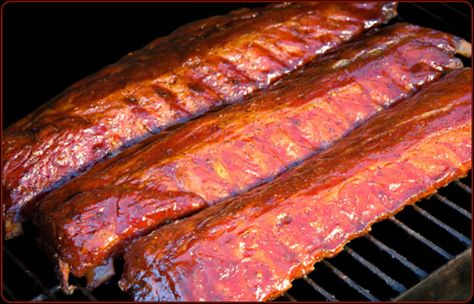 "The 3-2-1 method of barbecuing ribs—3 hours of smoke, 2 hours wrapped tightly in foil, and 1 hour sauced—has become very popular among competition barbecuers and home cooks alike, especially those who prefer their ribs ""fall-off-the-bone"" tender. Adjust the cooking time if you like your ribs with more chew."