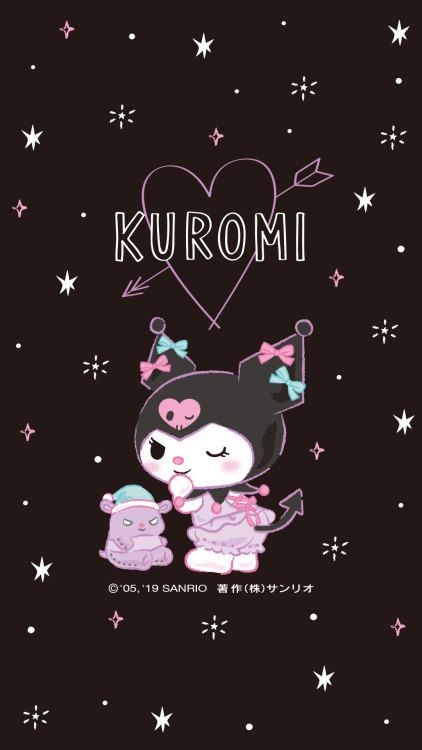 Kuromi In 2020 Sanrio Wallpaper My Melody Wallpaper Hello Kitty Art