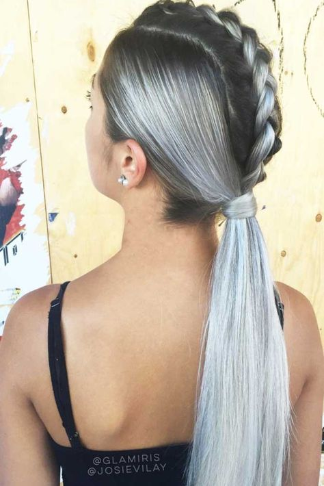 Adorable Summer Ponytail Hairstyles To Wear, In 2018