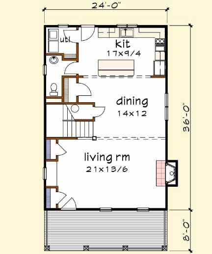 Main Floor Plan 16 296 House Plans House Plans 3 Bedroom How To Plan