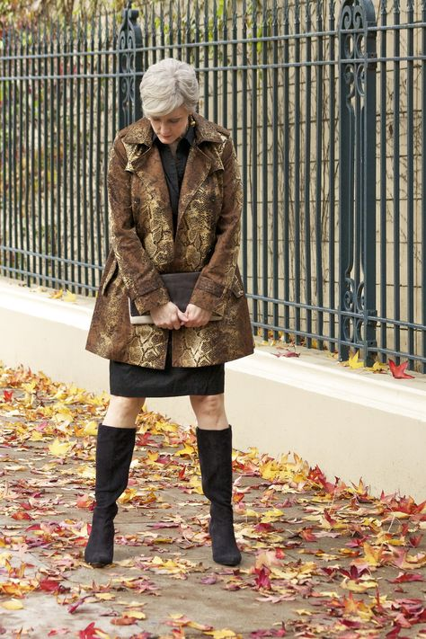 trends come and go, but true style is ageless — timeless trench: dress