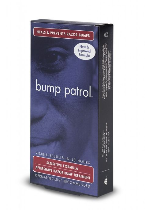 Bump Patrol Sensitive Formula Aftershave Razor Bump Treatment 2 oz