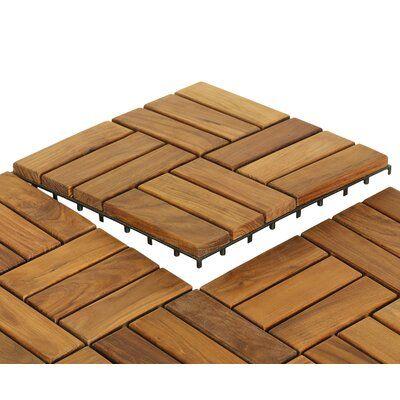 Topeakmart Patio Pavers Decking Flooring Deck Tiles 12 X