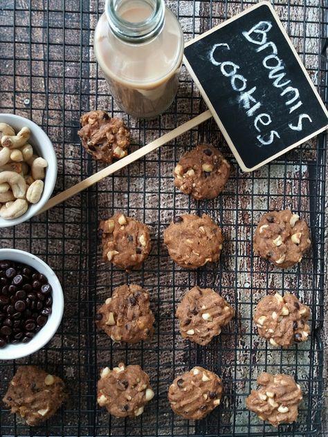 Brownies Cookies Brownie Cookies Resep Biskuit Kue Kering Mentega