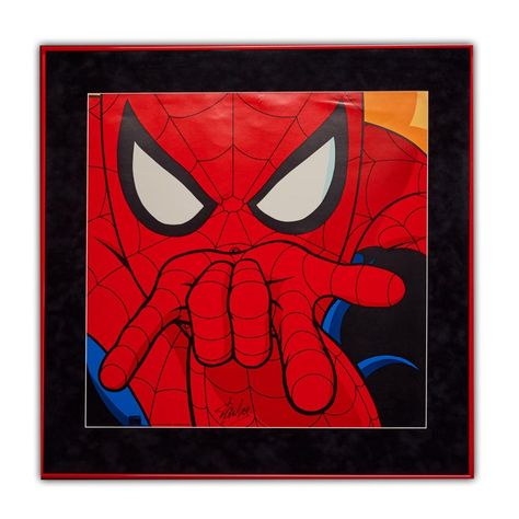 Marvel Spider Man Classic Signed Poster Display