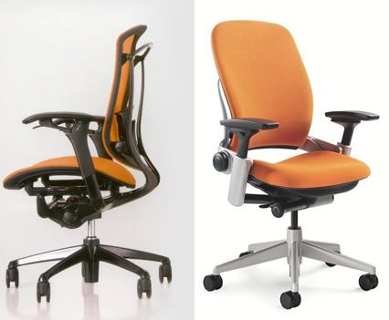 Teknion Contessa office chair referred to by graphic designers as