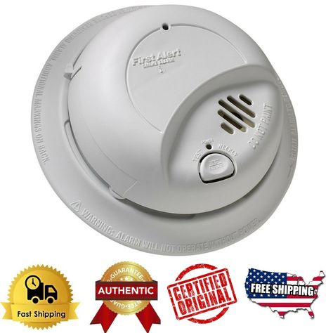 BRK 9120B Hardwired Smoke Alarm with