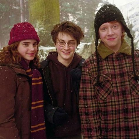 Hermione, Harry e Ron..❤😊😊 discovered by Mary_Rosy_98