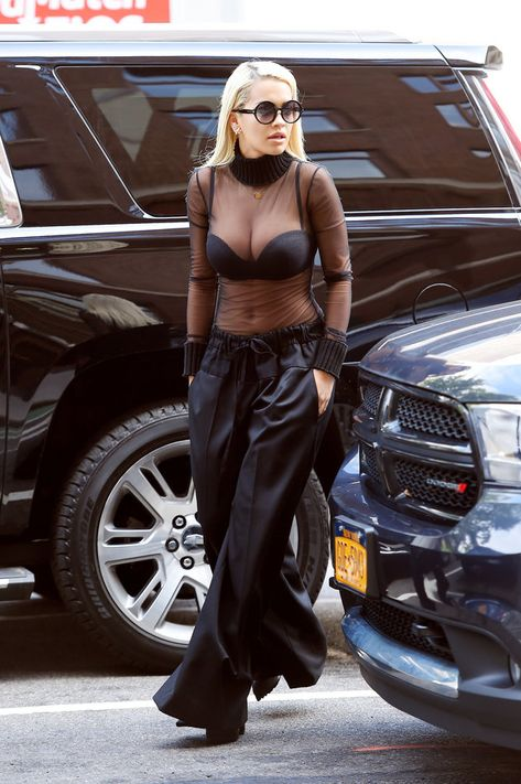 Rita Ora Gets Racy In A Sheer Top You are in the right place about Bra hacks Here we offer you the most beautiful pictures about the Bra tips you are looking for. When you examine the Rita Ora Gets Ra