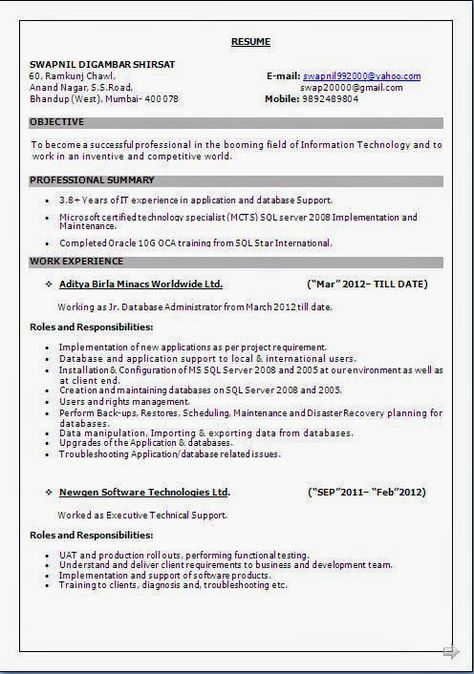 biodata format for teacher Beautiful Excellent Professional - configuration management resume