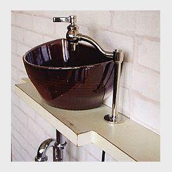 洗面器 水栓 バスルームアクセリー アイビーシリーズ クレセント 洗面ボウル 洗面器 水栓