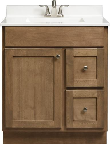Briarwood Skyline 30 W X 21 D X 34 1 2 H Vanity At Menards
