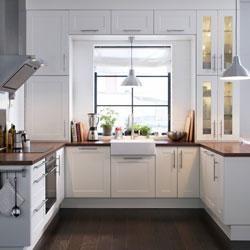 Il Lavello Sotto La Finestra Paperblog Ikea Kitchen Design Modern White Kitchen Cabinets Kitchen Remodel Small