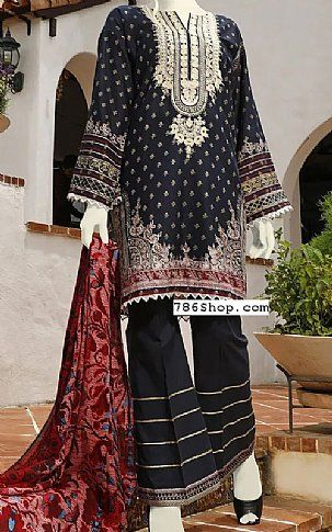 Black Self Jacquard Suit Buy Junaid Jamshed Pakistani Dresses And Clothing Online In Usa Uk In 2020 Fashion Fashion Dresses Fashion Pants