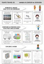 Plan De Travail Gs Periode 4 Avec Images Cahier De Reussite