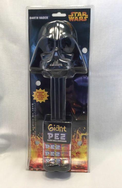 "Star Wars Darth Vader Giant LARGE 12/"" Pez Dispenser Sound Sealed Box Gift 2014"