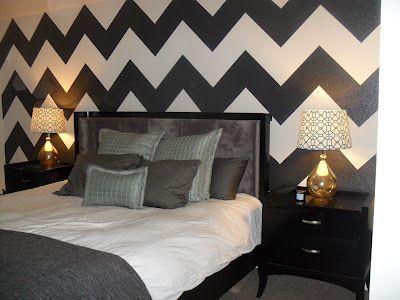 My Bedroom With Cool Chevron Striped Walls Almost Done Girl Bedroom Designs Bedroom Design Dream Bedroom