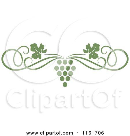 39+ Grape vine clipart border info