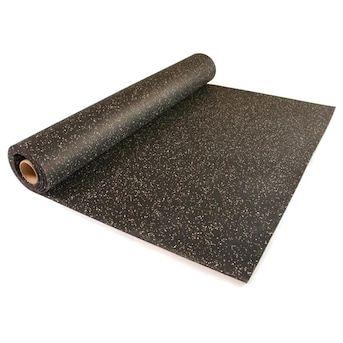 Greatmats Rolled Rubber 48 In X 120 In Black With 10 Eggshell Flecks Color Flecked Rubber Sheet Multipurpose Flooring Lowes Com In 2020 Multipurpose Flooring Flooring Flecked