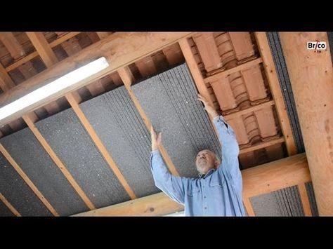 Isoler Facilement La Sous Toiture Avec Des Panneaux De Polystyrene Bricolage Avec Robert Youtube Sous Toiture Isolation Toiture Toiture