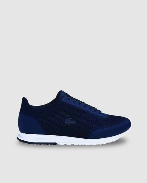 dbbb06b17444d Zapatillas deportivas de mujer de Lacoste azules