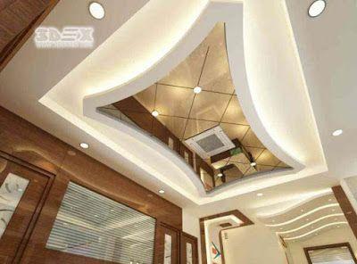 Pop Design With Mirrors False Ceiling Designs For Living