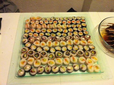 Idee Menu Asiatique Fait Maison Recettes De Cuisine Sushi