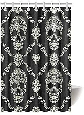Amazon Com Interestprint Gothic Shower Curtain Ornament With