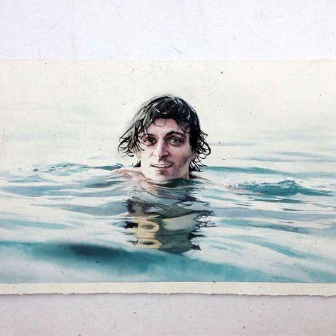 Marcos Beccari Dec 16 Dessin Realiste Aquarelle Technique De