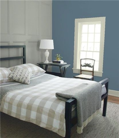 Look At The Paint Colour Combination I Created With Benjamin Moore Via Benjamin Moore Wall Thousand Oce Best Bedroom Colors Bedroom Colors Best White Paint