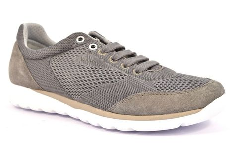 GEOX U720HB 01422 C1006 DAMIAN Grigio Sneakers Scarpe Uomo