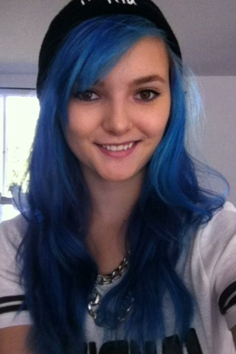 Remove Blue Hair Dye Without Bleaching It Dyed Hair Blue Blue