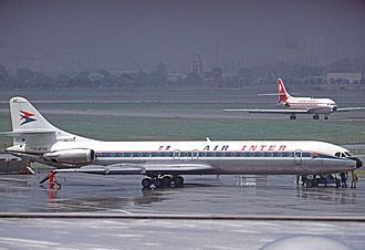 Sud Aviation Caravelle Wikipedia Aviation Air France Jet Age