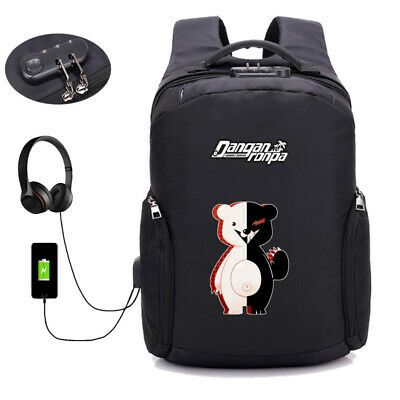 Danganronpa Backpack Teenagers Children School bag Mochila Laptop Travel bag