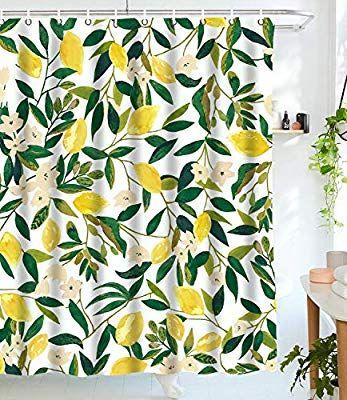 Amazon Com Tapejoy Fruit Shower Curtain Summer Main Shower