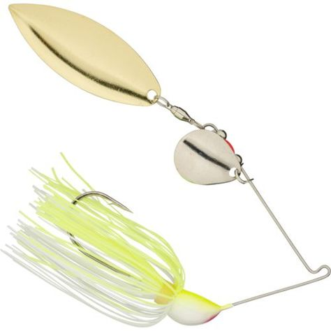 WHITE STRIKE KING HACK ATTACK SELECT SPINNERBAITS 1//2 OZ