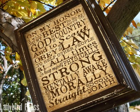 Printable Scout Oath - Court of Honor - Scout Oath - Sign - Eagle Scout -Gift…
