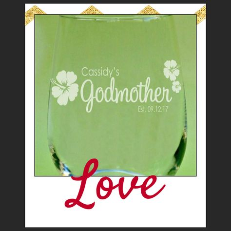 Personalized Godmother Gift Godparent Gifts Birthday Presents For Godparents