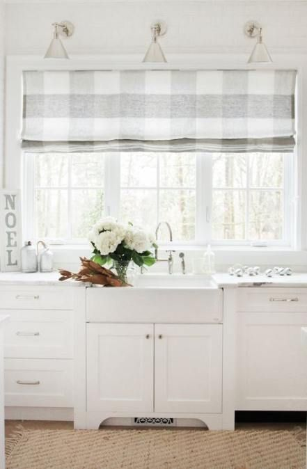 30 Trendy Kitchen Window Over Sink Roman Shades Curtains Kitchen Farmhouse Style Kitchen Curtains Farm Style Kitchen Farmhouse Kitchen Curtains