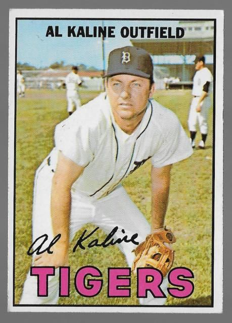 Detroit Tiger Al Kaline Greatest Players Mlb History Baseball