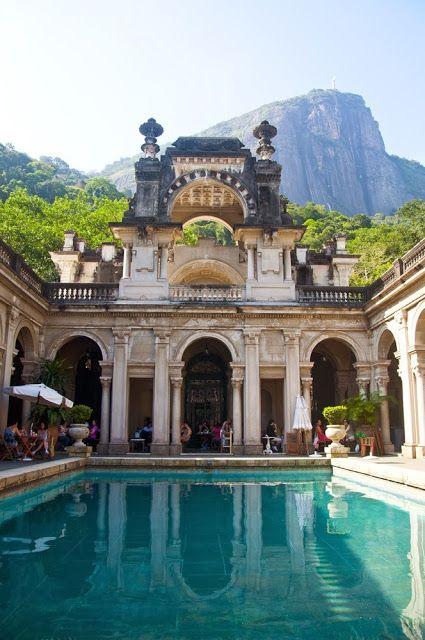 Parque Lage dans le #jardin botanique à Rio De Janeiro au Brésil #Voyage #Paysage