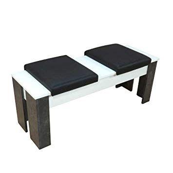 50++ Sitzbank mit tisch weiss Sammlung