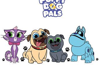 Puppy Dog Pals Etsy Dogs And Puppies Puppies Pals