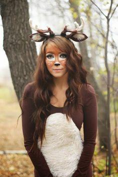 Karneval Kostüm selber machen mif viel Fantasie und Lust  sc 1 st  Pinterest & flattery: Deer Halloween Costume Tutorial   Halloween   Pinterest ...