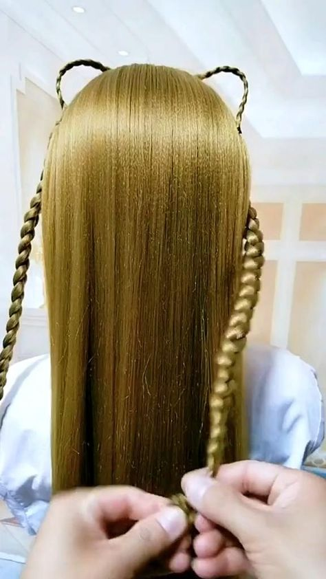 Hairstyle Tutorial 4145