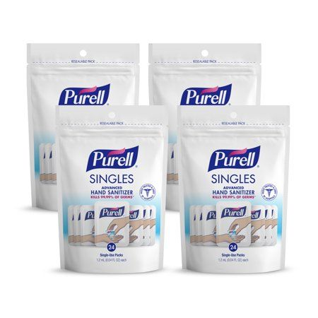 Purell Mini Single Use Hand Sanitizer Party Favors Baby Shower