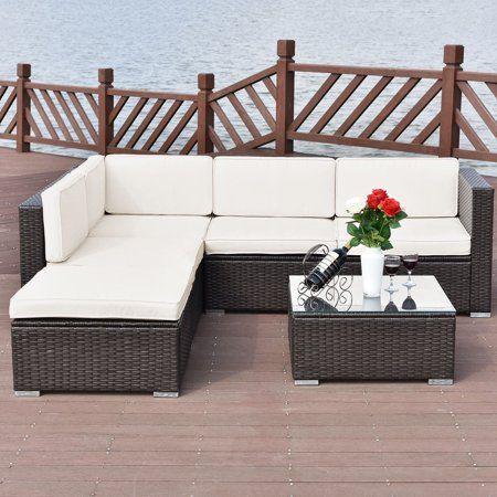 Patio Garden Outdoor Wicker Patio Furniture Wicker Patio Furniture Set Patio Furnishings